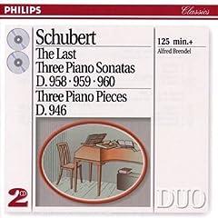 A.ブレンデル演奏 シューベルト後期ピアノ・ソナタ集の商品写真