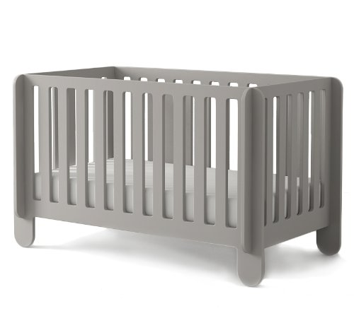 Oeuf Elephant Crib, Grey - 1