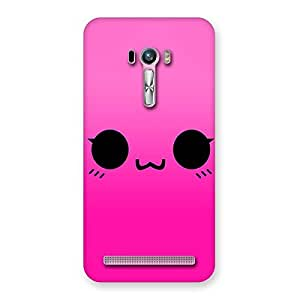 Special Pink Smile Face Back Case Cover for Zenfone Selfie