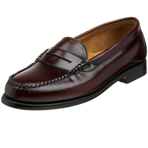 Bass Women's Wayfarer Penny Loafer,Burgundy,8 M US