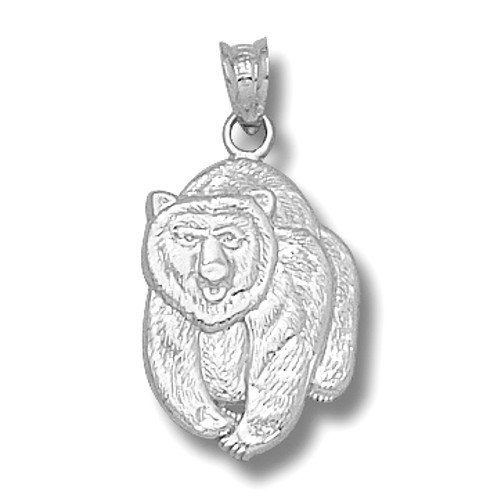 Sterling Silver University of Montana Large Grizzly Bear Mascot Charm UMT005SS at Amazon.com