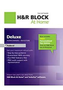 H&R Block At Home Deluxe 2012 [Download]