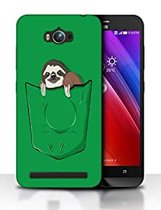 Snoogg Animal In Green Pocket Designer Protective Back Case Cover For ASUS ZENFONE MAX