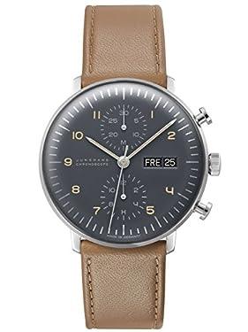 Junghans Max Bill Chronoscope Watch 027/4501.00