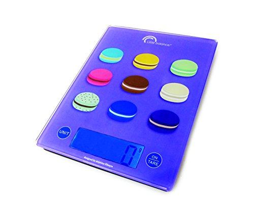 Little balance - 8087 - Balance de cuisine électronique 5kg - 1g violet andy macaron
