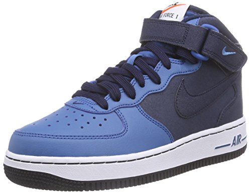Nike-Air-Force-1-Mid-GS-Zapatillas-de-baloncesto-Nios