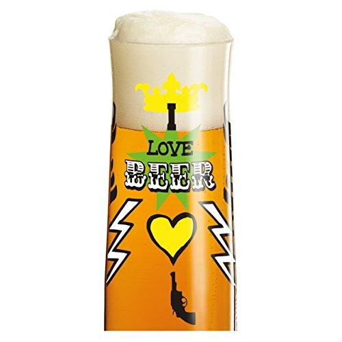 Ritzenhoff-3220005-Robers-H14-Copa-para-cerveza-con-texto-I-love-beer