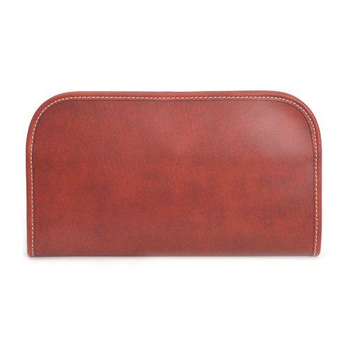 HERGOPOCH エルゴポック no.06 Waxed Leather ワキシングレザー クラッチ ハンドバッグ (06-CL) (レッド)