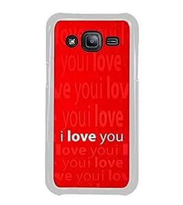 ifasho Designer Phone Back Case Cover Samsung Galaxy J2 J200G (2015) :: Samsung Galaxy J2 Duos (2015) :: Samsung Galaxy J2 J200F J200Y J200H J200Gu ( Bear Face Class Pattern Design )