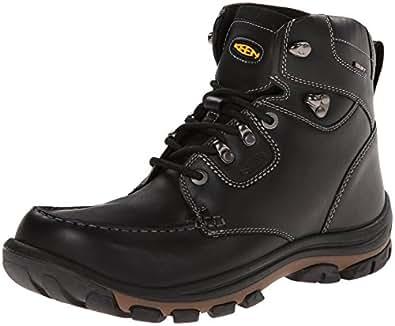 KEEN Men's Nopo Boot,Black/Full Grain,7 M US
