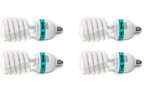 Images for Cowboystudio Full Spectrum Light Lighting Bulb- Four 85 watt Photography Photo CFL 5500K - Daylight Balanced Pure White Light  4000 Lumens