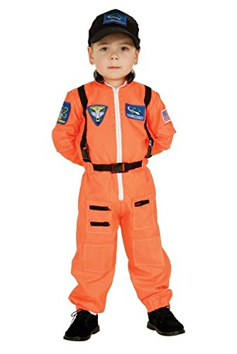 Rubie's Costume Co. Orange Child Astronaut Costume