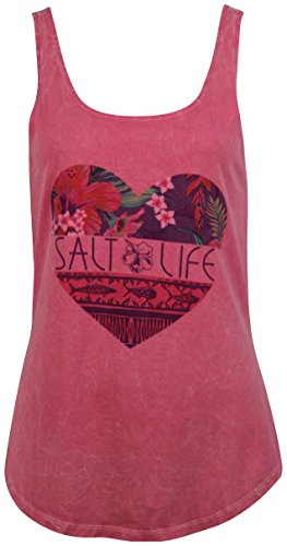 Salt Life Salt, Love Salt Wash Women's Tank, Rose (XL) (Salt Life Womens Shirts compare prices)