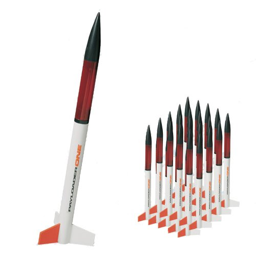 Quest Aerospace PayloaderONE Model Rocket Value Pack (25)