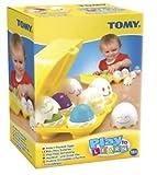 3 X TOMY Play to Learn Hide 'n' Squeak Eggs