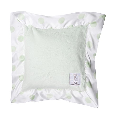 Little Giraffe Luxe New Dot Pillow, Celadon