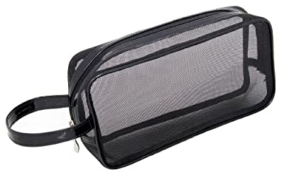 Best Cheap Deal for Mommy Makeup Black Mesh Makeup Bag by Mommy Makeup - Free 2 Day Shipping Available