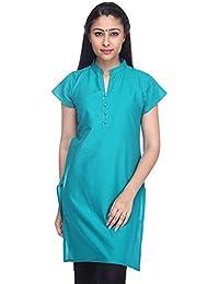 Pink Almirah Women Green Kurta available at Amazon for Rs.219