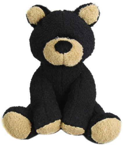 "Purr-Fection Barry Black Bear 7"" Plush - 1"