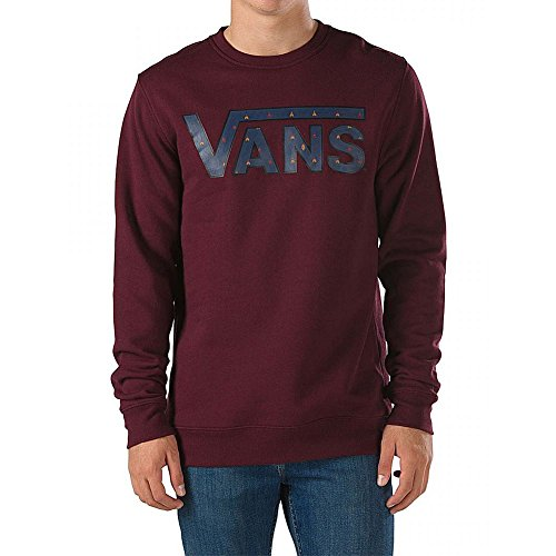 Vans - Felpa Classic Crew - Port Royale/True Native Ditsy - L