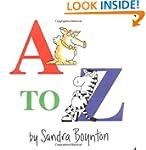 A to Z (Boynton Board Books (Simon &...