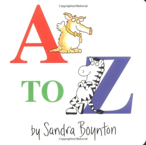 A To Z (Boynton Board Books (Simon & Schuster))