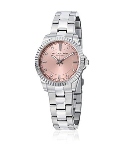 Stuhrling Original Reloj con movimiento cuarzo suizo Woman 408LL Silver