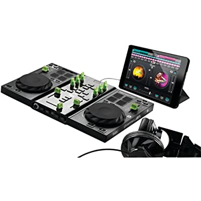 Hercules 4780761 Digital DJ Turntable Control Air for iPad from Hercules