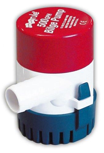 Rule 26D Marine Rule 500 Marine Bilge Pump (500-GPH, 24-Volt)
