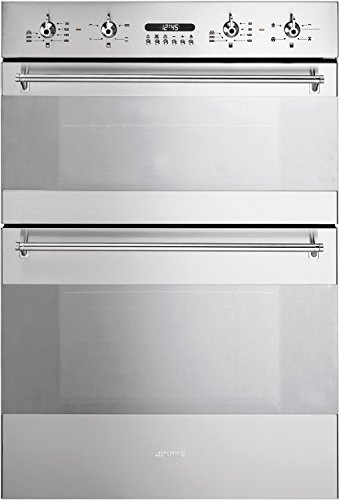 Smeg Classic DOSC34X Double Built In Electric Oven