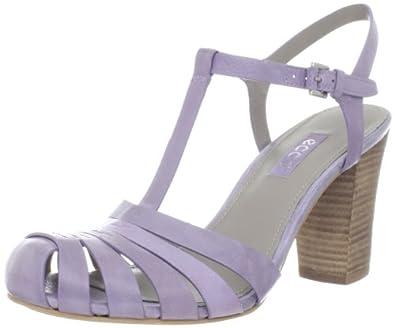ECCO Women's Omak Closed Toe Sandal,Light Purple,40 EU/9-9.5 M US