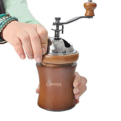 Coffee Maker With Grinder And Water Line : Manual Coffee Grinder - Portable Coffee Mill - Adjustable -Coffee Maker With Grinder For ...