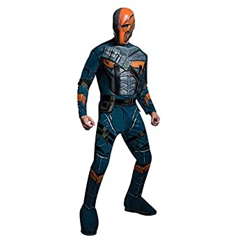 Warner Bros. Men's Batman Arkham Deathstroke Muscle Chest Costume