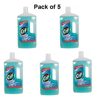 cif-nettoyant-pour-plancher-ocean-1-litre-147672-lot-de-5-x-5-emballage-peuvent-varier