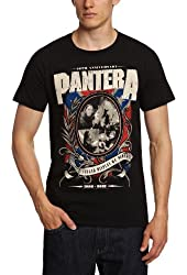 Bravado Men's Pantera-Anniversary Shield T-Shirt