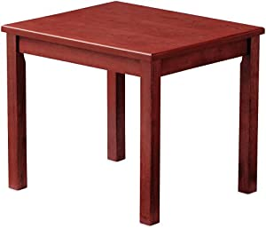 HON 5193JJ 5100 Series Wood End Table, Rectangular, 24w x 20d x 20h, Henna Cherry