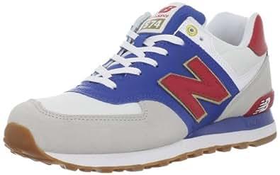 New Balance 574 ML OLG Rosso Bianco Blu 46,5