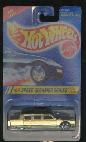 Hot Wheels 1994-4 of 4 Limozeen Speed Gleamer Series 1:64 Scale - 1