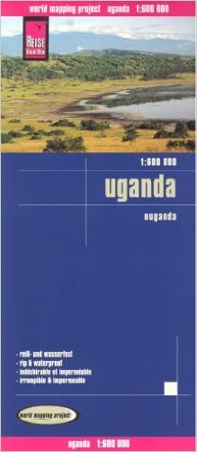Uganda 1:600,000 Travel Map, waterproof, GPS compatible REISE