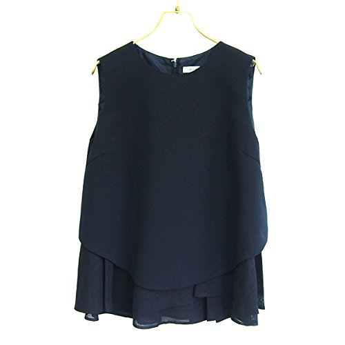 (フレイ アイディー)FRAY I.D アシメフレアーブラウス fwfb154507 NAVY : 服&ファッション小物通販 | Amazon.co.jp