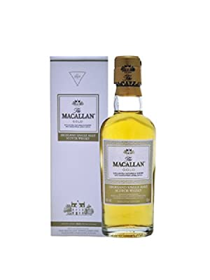 Macallan Gold Single Malt Scotch Whisky 5cl Miniature from Macallan