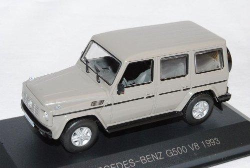 Mercedes-Benz G-Klasse G500 Grau V8 1993 W463 1/43 Whitebox Modell Auto