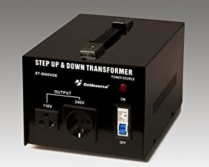 5000 Watt Transformator 110V 230V Step Up / Step Down Voltage Converter Spannungswandler 5000W Trafo