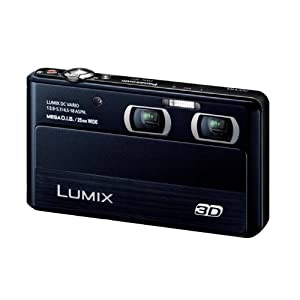 Panasonic digital cameras Lumix 3D shooting black DMC-3D1-K