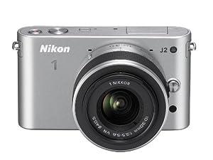 Nikon 1 J2 Kit compact hybride 10,1 Mpix + Objectif 1 Nikkor VR 10-30 mm f/3.5-5.6 Aluminium