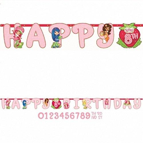 Strawberry Shortcake 'Dolls' Jumbo Letter Banner Kit (1ct) - 1