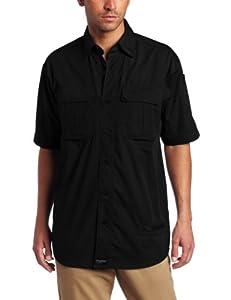 Blackhawk Men's Short Sleeve Lightweight Tactical Shirt (Black, Small)