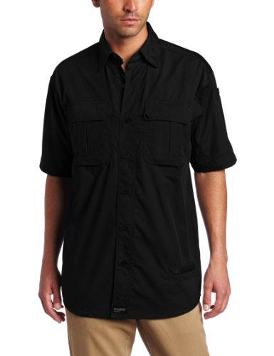 Blackhawk Men's Short Sleeve Lightweight Tactical Shirt (Black, X-Large)