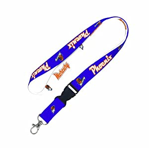 WNBA Phoenix Mercury Lanyard with detachable buckle