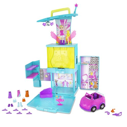 Mattel T1211-0 - Polly Pocket Popstar Tourbühne